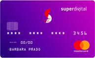 Conta Digital + Cartão <br>Superdigital